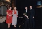 Šandor Peter - absolutní vítěz - K. Herajnová. D. Šimonková a J. Petrof