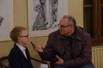 Čmejla Jan dává rozhovor
