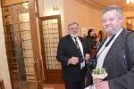 před koncertem vítězů - Štěpán Harašta (vpravo)