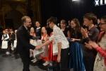 Martinelli Riccardo přebírá oceněn