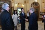 pan Čang Ťien-min, čínský velvyslanec s chotí