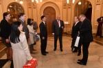 Vítání čínského velvyslance